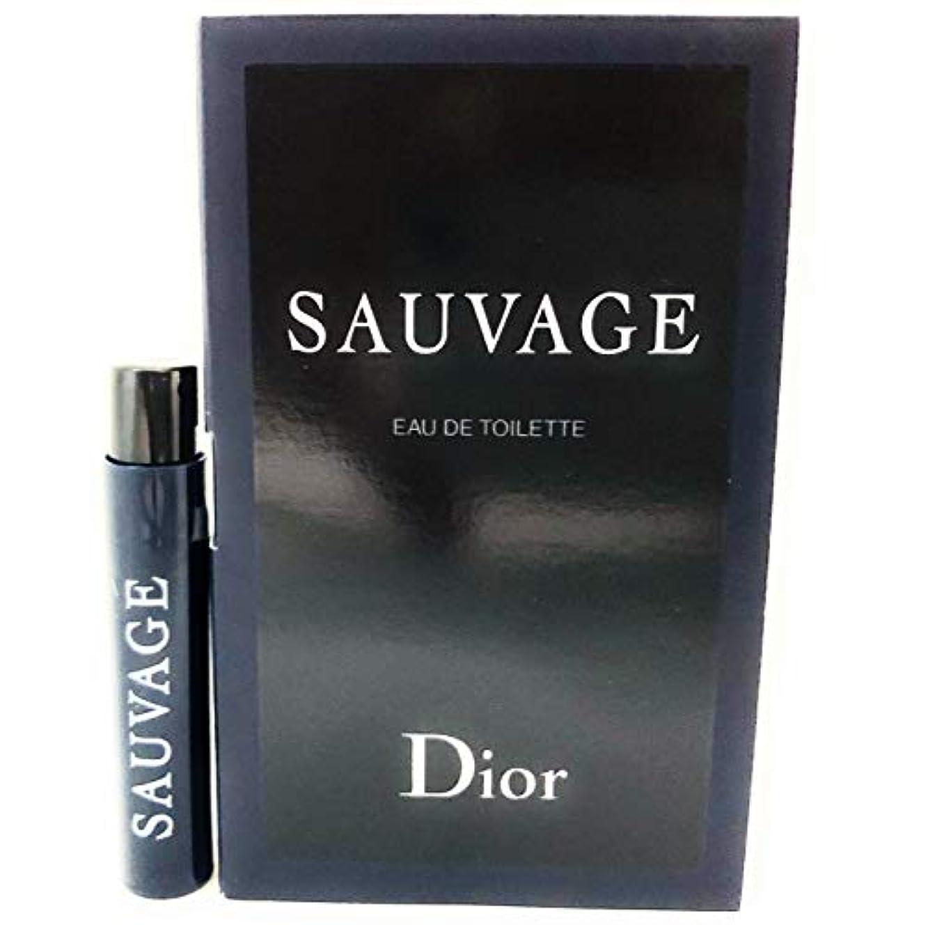 コモランマ称賛傷つきやすいクリスチャン ディオール(Christian Dior) ソヴァージュ オードゥ トワレ 1ml サンプルサイズ[並行輸入品]