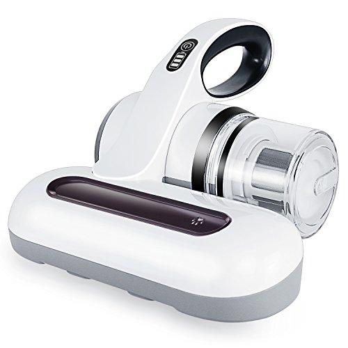 布団クリーナー 布団掃除機 MOOSOO コードレス ふとん用 ダニクリーナー ふとん掃除 ダニ取り 充電式 布団乾燥機 たたき振動 アレルギー 除去 温風 UVランプ 日本語説明書付き 12ヶ月の保証期間 G6