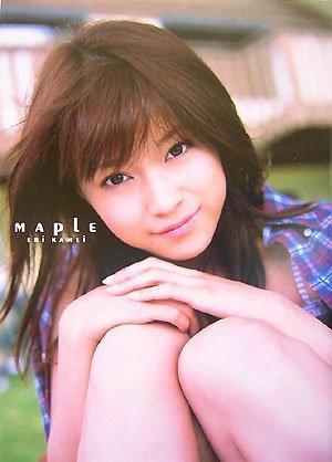 亀井絵里写真集『MAPLE』(DVD付)
