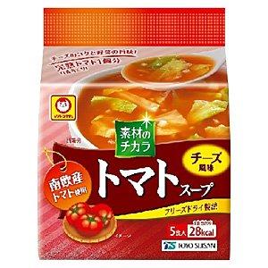 東洋水産 マルちゃん 南欧産トマトスープ 8.4g×5個×12パック入