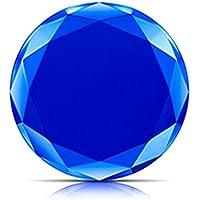 Fashionwu Qi ワイヤレス充電器 ワイヤレスチャージャー 急速充電 コンパクト 超軽量 超薄型 ダイヤモンドスタイル Samsung Galaxy/S9/iPhone X/8対応