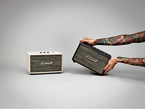 <国内正規品> Marshallスピーカー ACTON コンパクトながら大型スピーカー Bluetoothスピーカー (Marshallスピーカー ACTON BK)