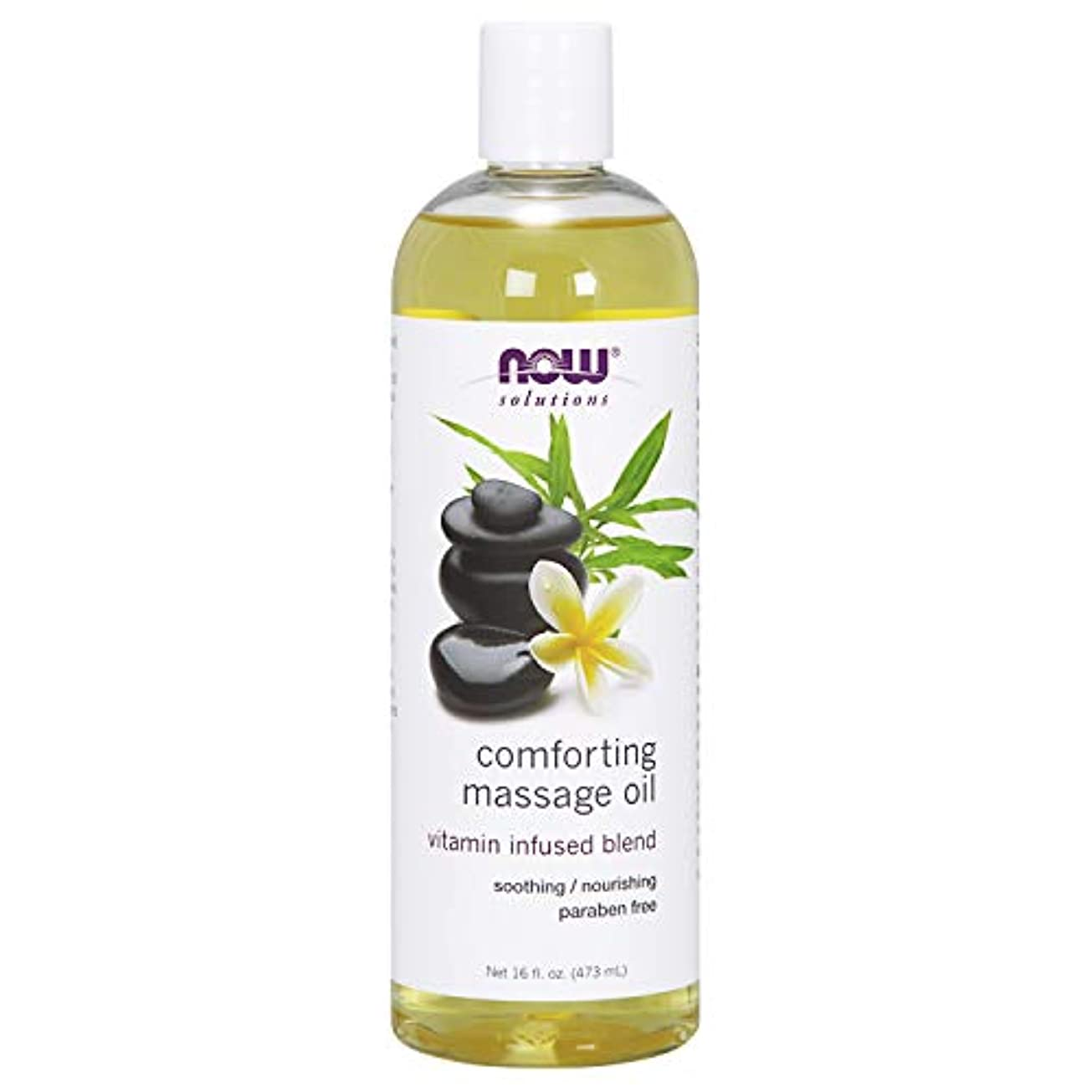 リッチ温度計彼らの海外直送品Now Foods Comforting Massage Oil, 16 Fl Oz