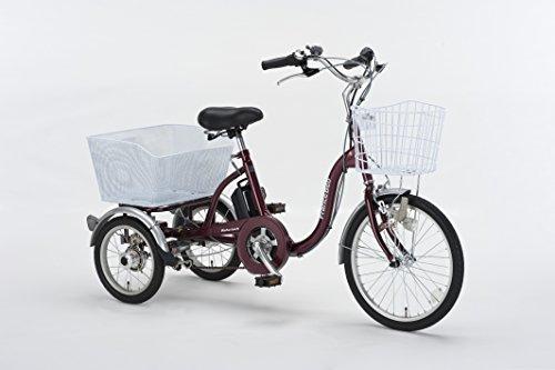 電動アシスト三輪自転車 防犯登録付 組立済 即乗り可能 AS...