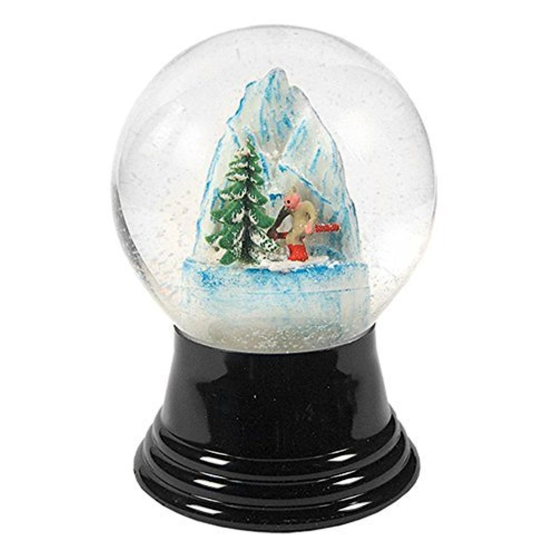 Alexander Taronインポータpr1007 Perzy Decorative Snowglobe with Medium Skier、5