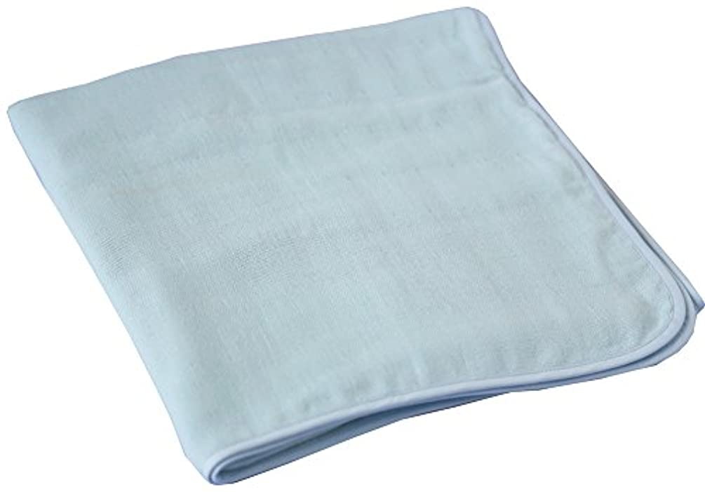 山積みの寝室を掃除する認証成願 バスタオル ハイドロ銀チタン DR.C ライトブルー 60×120cm 敏感肌用 JDR SENSITIVE BT LBL