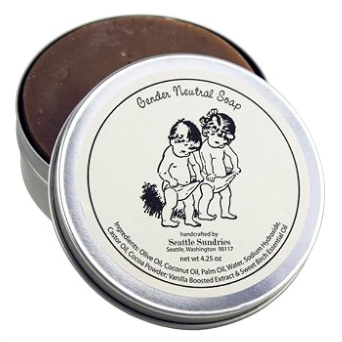 のみ翻訳者毛皮シアトル石鹸 Gender Neutral / 石鹸を愛する全ての人へ Seattle Sundries社製