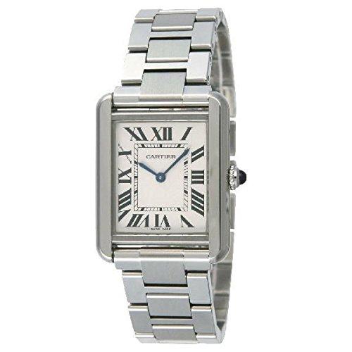 [カルティエ]Cartier 腕時計 タンクソロ シルバーダイアル SM レディースサイズ [並行輸入品]