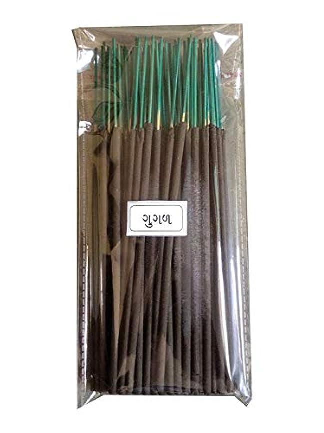 鋸歯状医師コマースDiscount4product Wood Guggal Incense Stick (20 cm x 9 cm x 3 cm, Black)