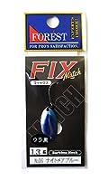 フォレスト(FOREST) スプーン フィックス マッチ 1.3g ナイトメアブルー #6 ルアー