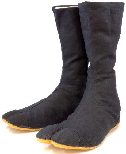 力王 縫付たび ファイター 12枚コハゼ 黒 26.5cm F12