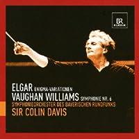 エルガー:エニグマ変奏曲/ヴォーン・ウィリアムズ:交響曲第6番