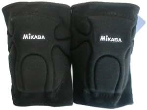 ミカサ バレー専用サポーター ブラック ナイロン製伸縮素材 サイズ:高さ20×幅(股側)16×幅(脛側)13cm 832SR