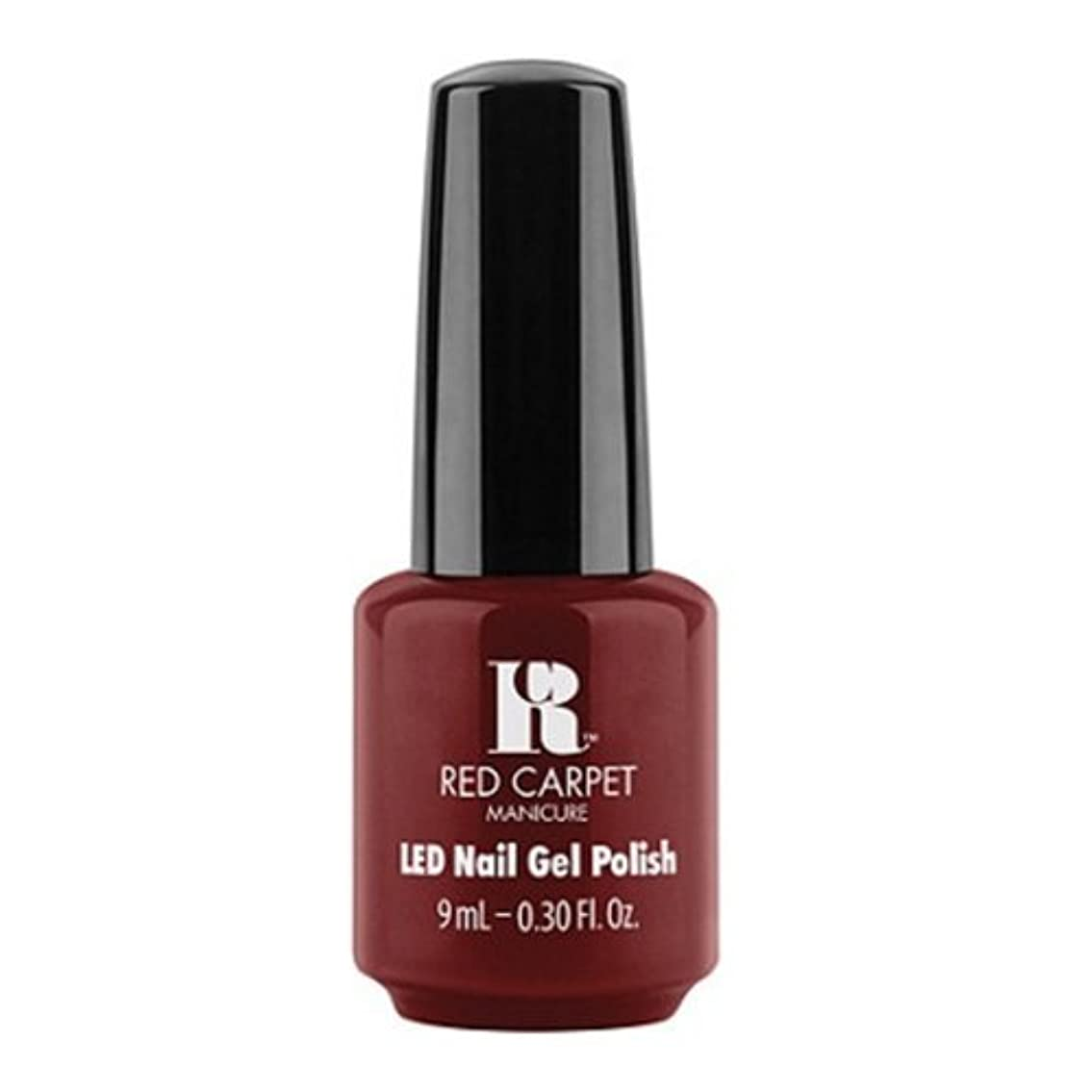 グラス区別フェリーRed Carpet Manicure - LED Nail Gel Polish - Keepin' It Sassy - 0.3oz / 9ml
