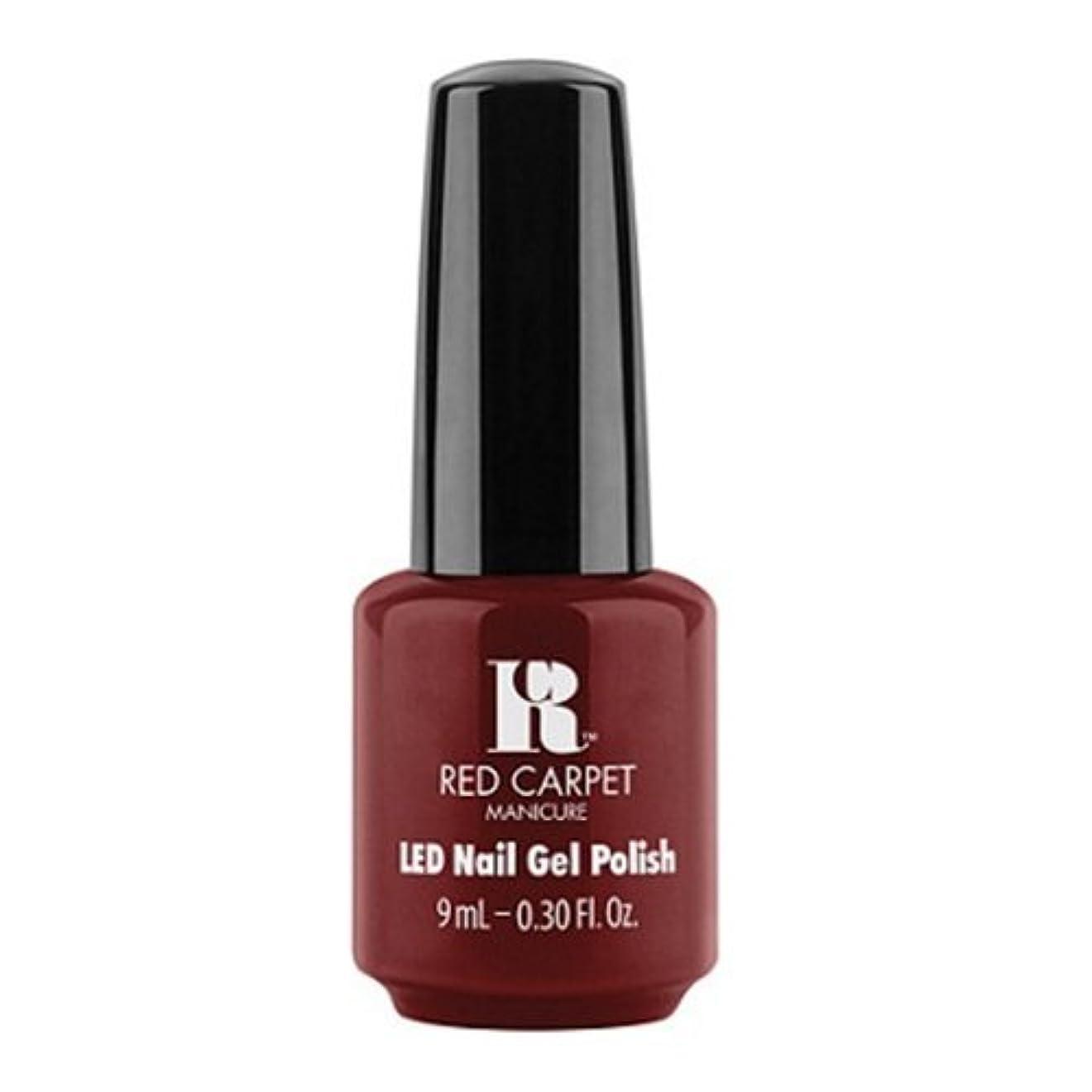 険しい未満禁止するRed Carpet Manicure - LED Nail Gel Polish - Keepin' It Sassy - 0.3oz / 9ml