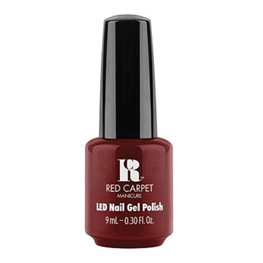 不忠再集計暗いRed Carpet Manicure - LED Nail Gel Polish - Keepin' It Sassy - 0.3oz / 9ml