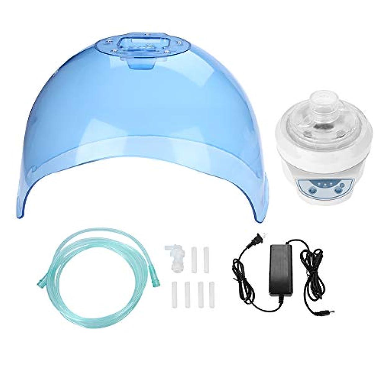一緒悪党きらめくLED水素マスク、高周波270°ファインスプレーハイドレーションLEDスキンテンダーマスクスパ水素スキンケア美容マスク機器