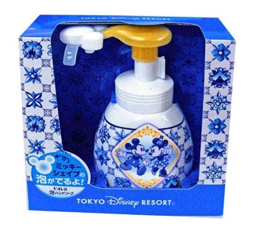 終了する悪党不注意泡ハンドソープ(新デザイン) 東京ディズニーリゾート ミッキーとミニー柄  おみやげ