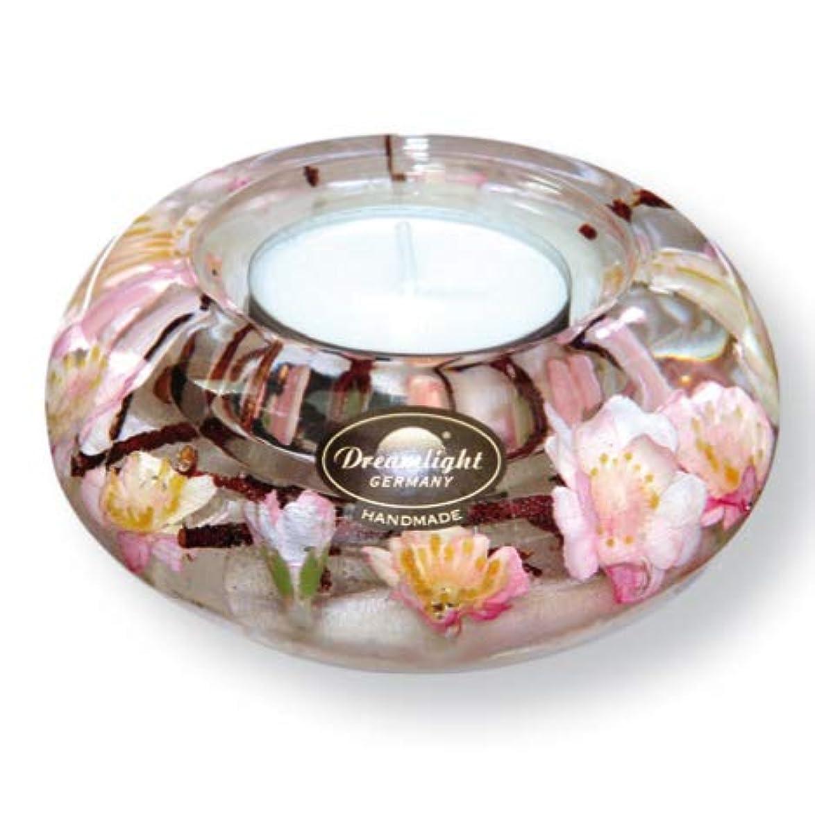 連想きらきら空洞ドリームライト UFO サクラ 花 キャンドルホルダー ガラス キャンドルスタンド おしゃれ