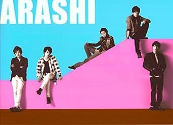嵐 公式グッズ LIVE TOUR Popcorn クリアファイル 集合 ARASHI.