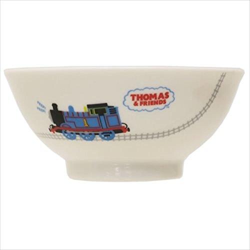 金正陶器 子ども用茶碗 白 10.5cm きかんしゃトーマス せんろ 662110