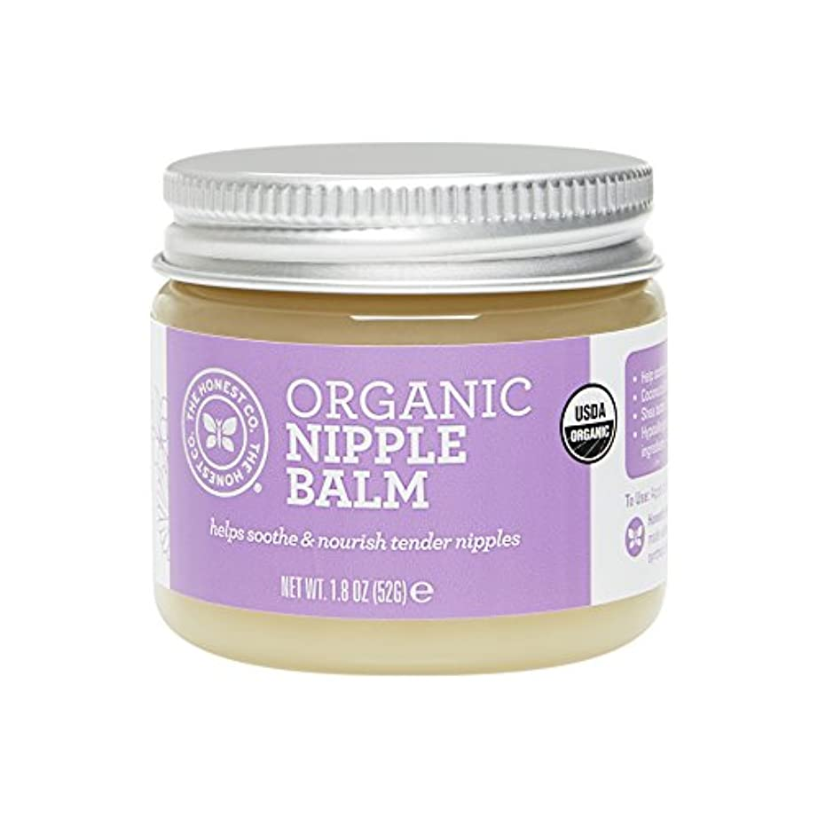 努力する保存するちっちゃいThe Honest Company Organic Nipple Balm 1.8 oz [並行輸入品]