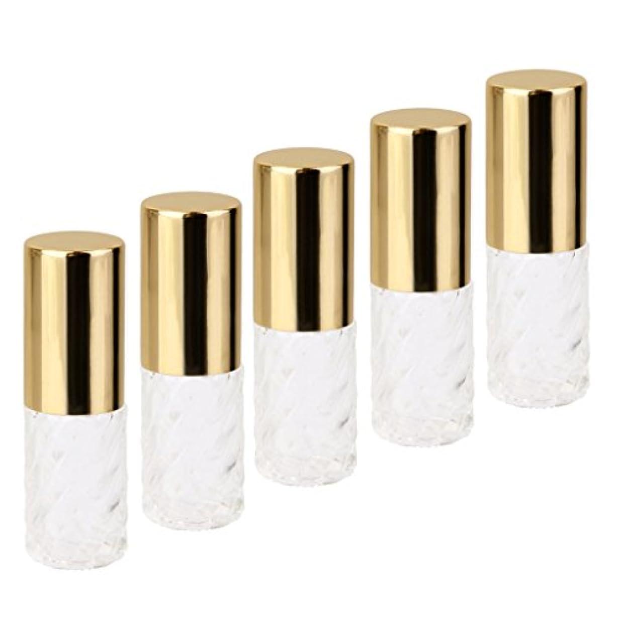 クロニクルタイト決めます【ノーブランド 品】クリニーク 透明 交換 旅行 空 ロールオン ガラス 香水瓶 容器 男性 女性 5ml