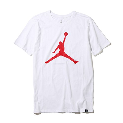 ナイキ(ナイキ) ジョーダン アイコン ロゴ 半袖Tシャツ 908017-100FA17 (ホワイト/M/Men's)