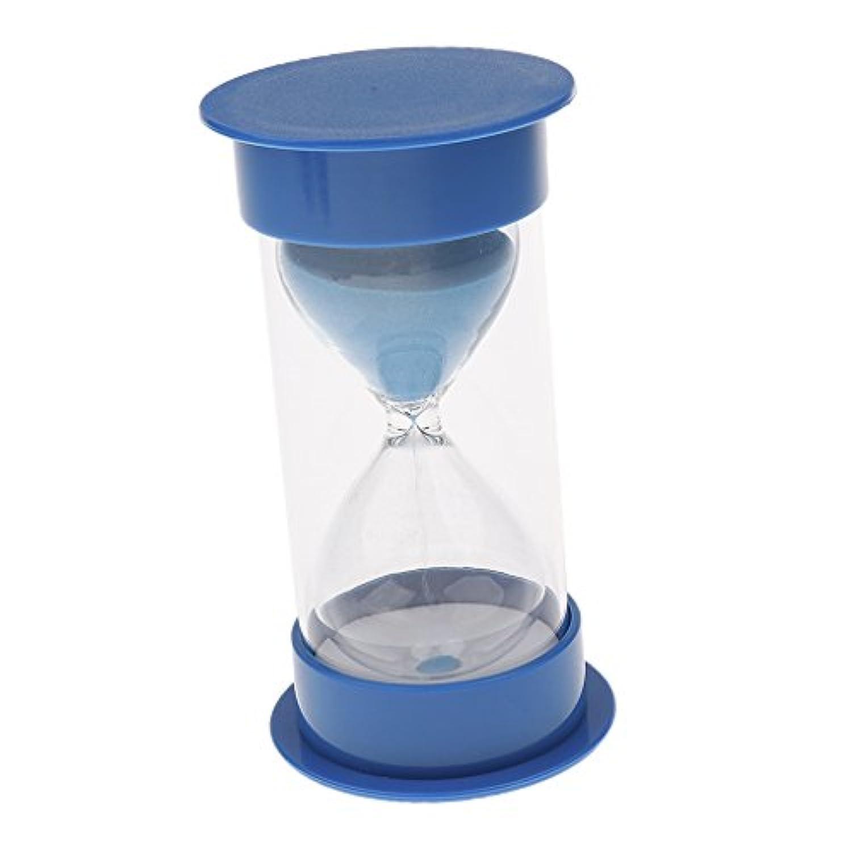 【ノーブランド 品】インテリア 砂時計 すなどけ 砂タイマー かわいい 贈り物 30分 ブルー