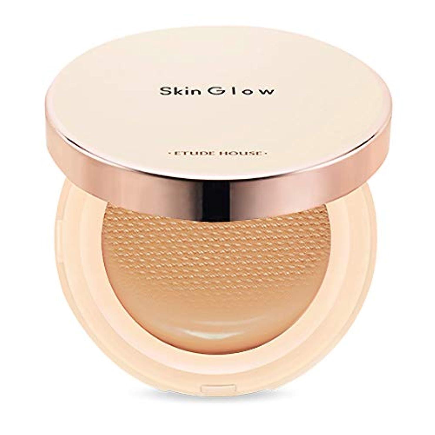 慣れている収縮進むEtude House Skin Glow Essence Cushion SPF50+/PA++++ エチュードハウス スキン グロー エッセンス クッション (# N06 Tan) [並行輸入品]