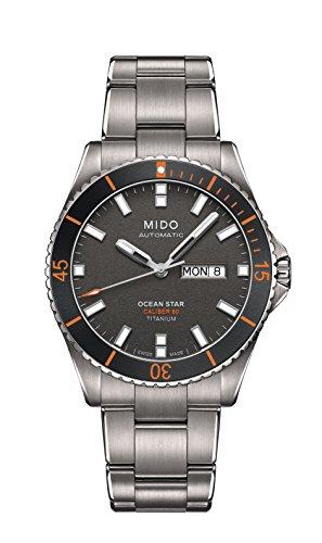 [ミドー] 腕時計 OCEANSTAR(オーシャンスター) 自動巻 チタン M0264304406100 メンズ 正規輸入品 シルバー