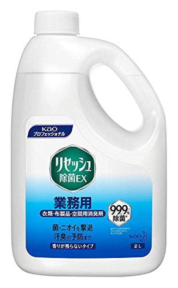 スプリット管理音花王 リセッシュ 除菌EX 香り残らない 業務用 2L 1本 (×2セット)