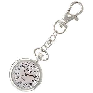 [フィールドワーク]Fieldwork 懐中時計 キーチェーンウォッチ アナログ表示 ピンクシェル DT112-2