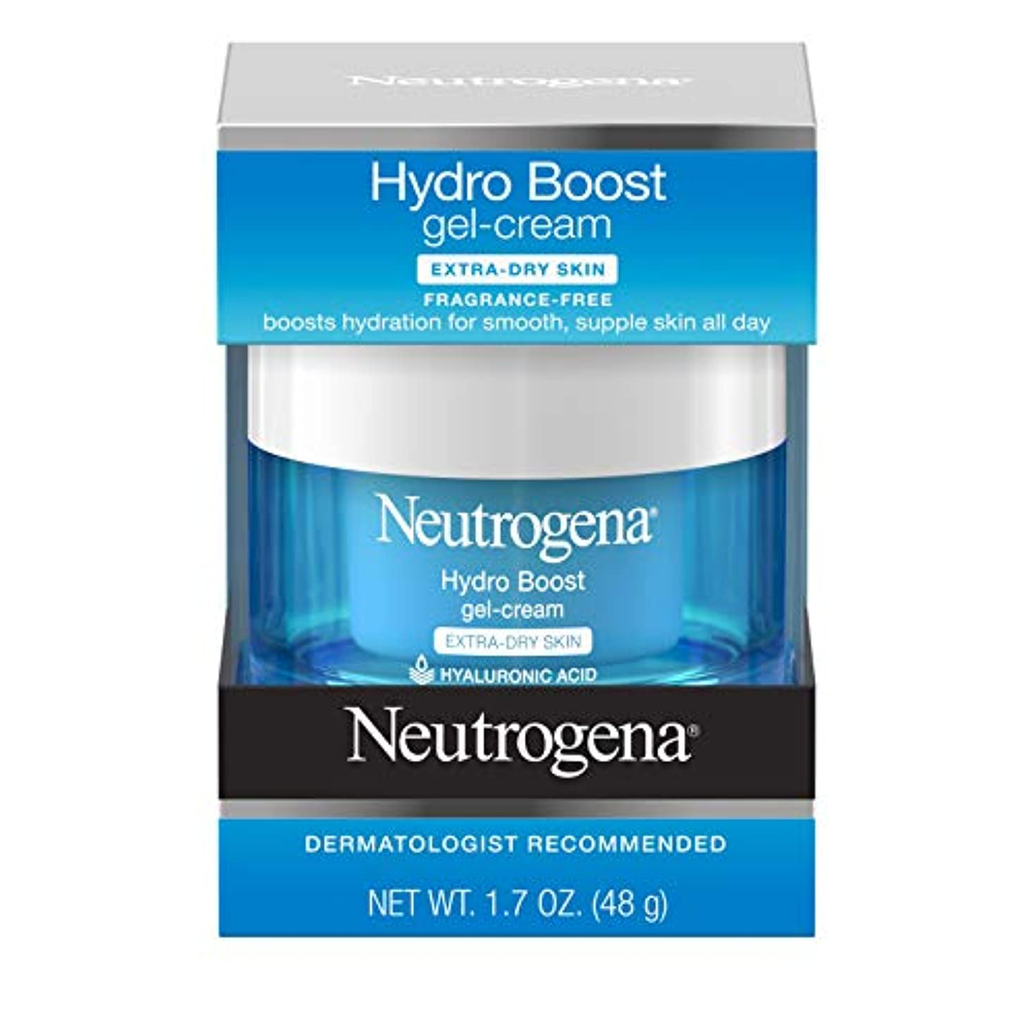 悪名高いの配列政治家のNeutrogena Hydro Boost Gel Cream, Extra Dry Skin, 1.7 Ounce  海外直送品?並行輸入品