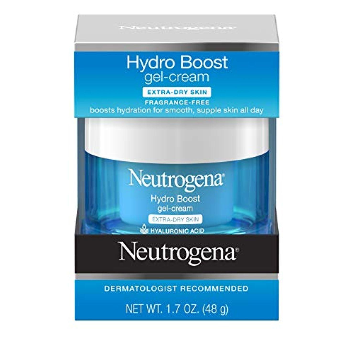 意気消沈した一回落ち着かないNeutrogena Hydro Boost Gel Cream, Extra Dry Skin, 1.7 Ounce  海外直送品?並行輸入品