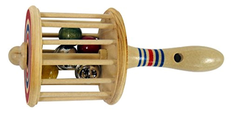 木製笛付がらがら 大