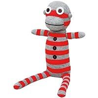 NO3NO4 Handmade Mr Rob Sock Doll, 1 Count