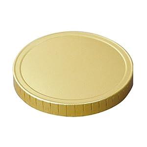 日本デキシー 業務用リッド(蓋) 71Φワンピース紙蓋(ゴールド) 1000枚セット GOT071SG(3.0g)