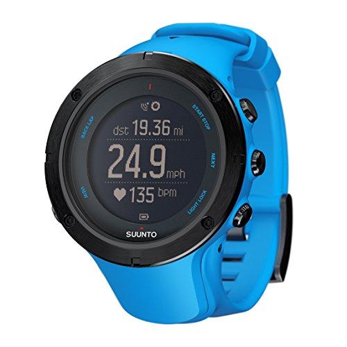 スント SUUNTO  腕時計 アンビット3 ピーク サファイアブルー 10気圧防水 GPS 気圧/高度/方位/速度/距離計測  日本 メーカー保証2年  SS022305000
