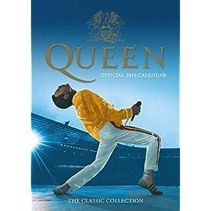 Queen Official 2019 Calendar - A3 Wall Calendar Format
