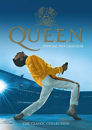 Queen Official 2019 Calendar - A3 Wall Calendar Format