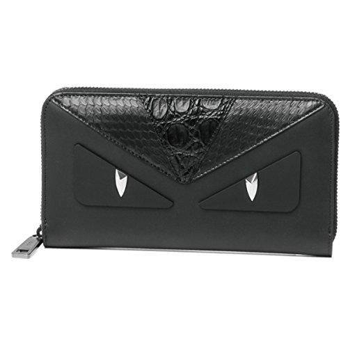 フェンディ(FENDI) 長財布(ラウンドファスナー) 7M0210 9JK F01FT バッグ バグズ アイ ブラック 黒 [並行輸入品]