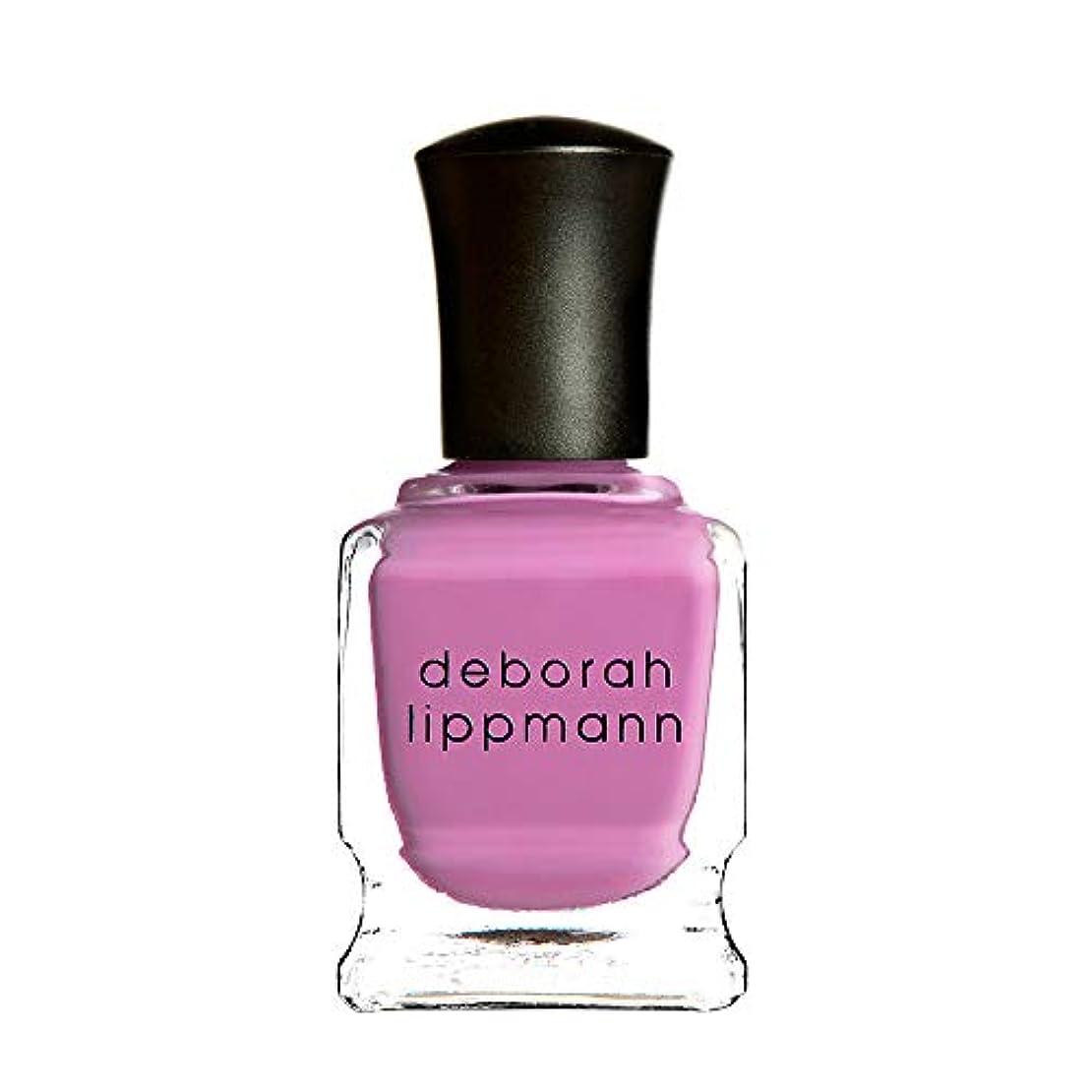 のり左酔っ払い【デボラリップマン Deborah Lippmann】SHE BOP ネイルポリッシュ ピンク PINK TWINKLE 15ml