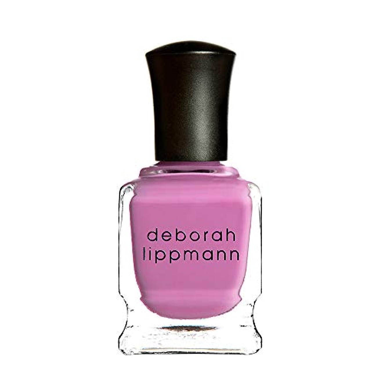 コットン蒸し器横【デボラリップマン Deborah Lippmann】SHE BOP ネイルポリッシュ ピンク PINK TWINKLE 15ml