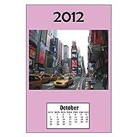 ドールハウスミニチュアNYC 2012Calender