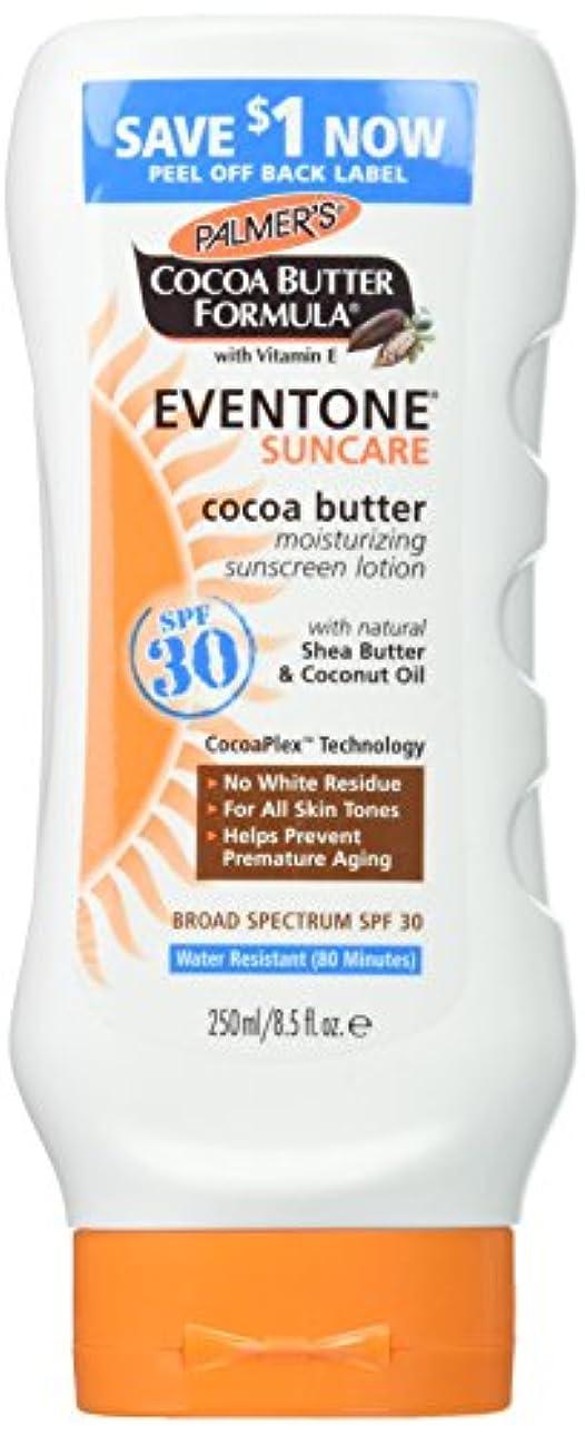 哀ボタン人生を作るPalmer's Cocoa Butter Formula With Vitamin E, Eventone Suncare Sunscreen Lotion, SPF 30, 8.5 Fl Oz by Palmer's