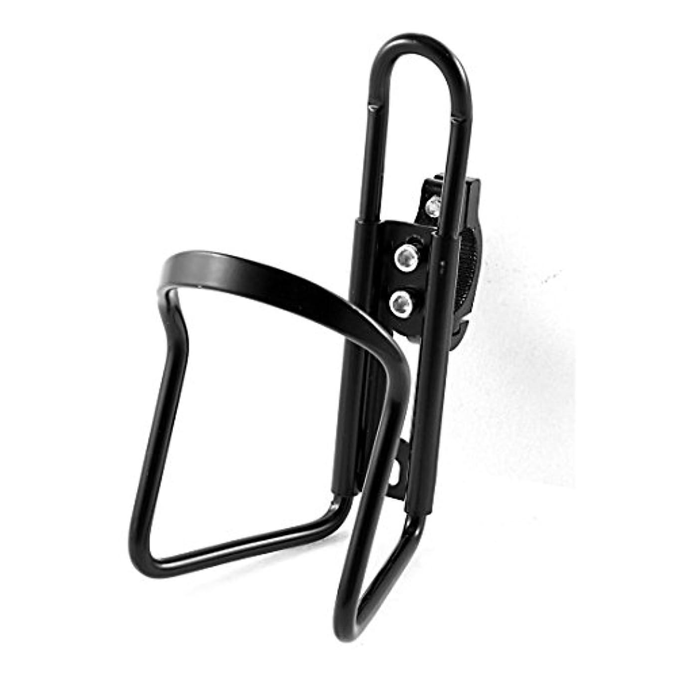 目立つ逆にルーキーブラックロードマウンテンバイク自転車合金ウォーターボトルケージホルダー