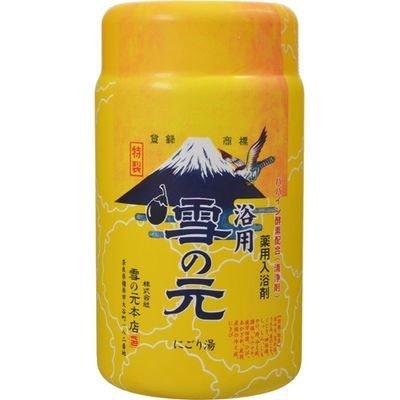 雪の元本店 薬用入浴剤 浴用 雪の元 900g E420227H