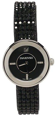 Swarovski スワロフスキー ピアッツァミニ ジェット メタル(1183491)【並行輸入品】+NONOKUROオリジナルクロス付