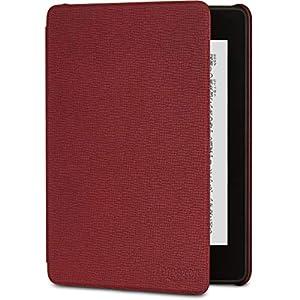 Amazon Kindle Paperwhite (第10世代) 用レザーカバー メルロー